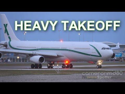 Air X Charter Departure | Airbus A340-300 | 9H-BIG | Nassau,Bahamas