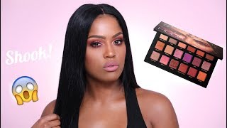 Huda Beauty Desert Dusk Review & Tutorial | MakeupShayla