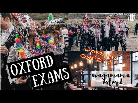 FINISHING OXFORD EXAMS & COOKING WITH WAGAMAMA | AD | viola helen