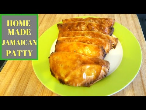 MEL'S KITCHEN: HOW TO MAKE JAMAICAN PATTY (home made)