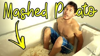 Mashed Potato Bath Tub