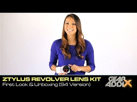 Ztylus Revolver Smartphone Camera Kit: First Look & Unboxing (Samsung Galaxy S4 Version)