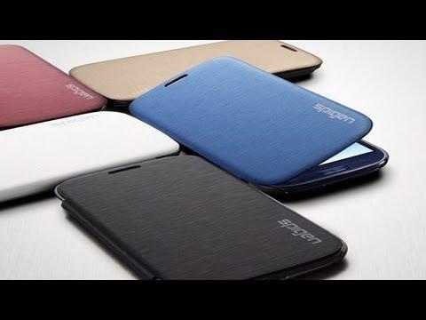 Samsung Galaxy S3 Metallic Ultra Flip Case by Spigen
