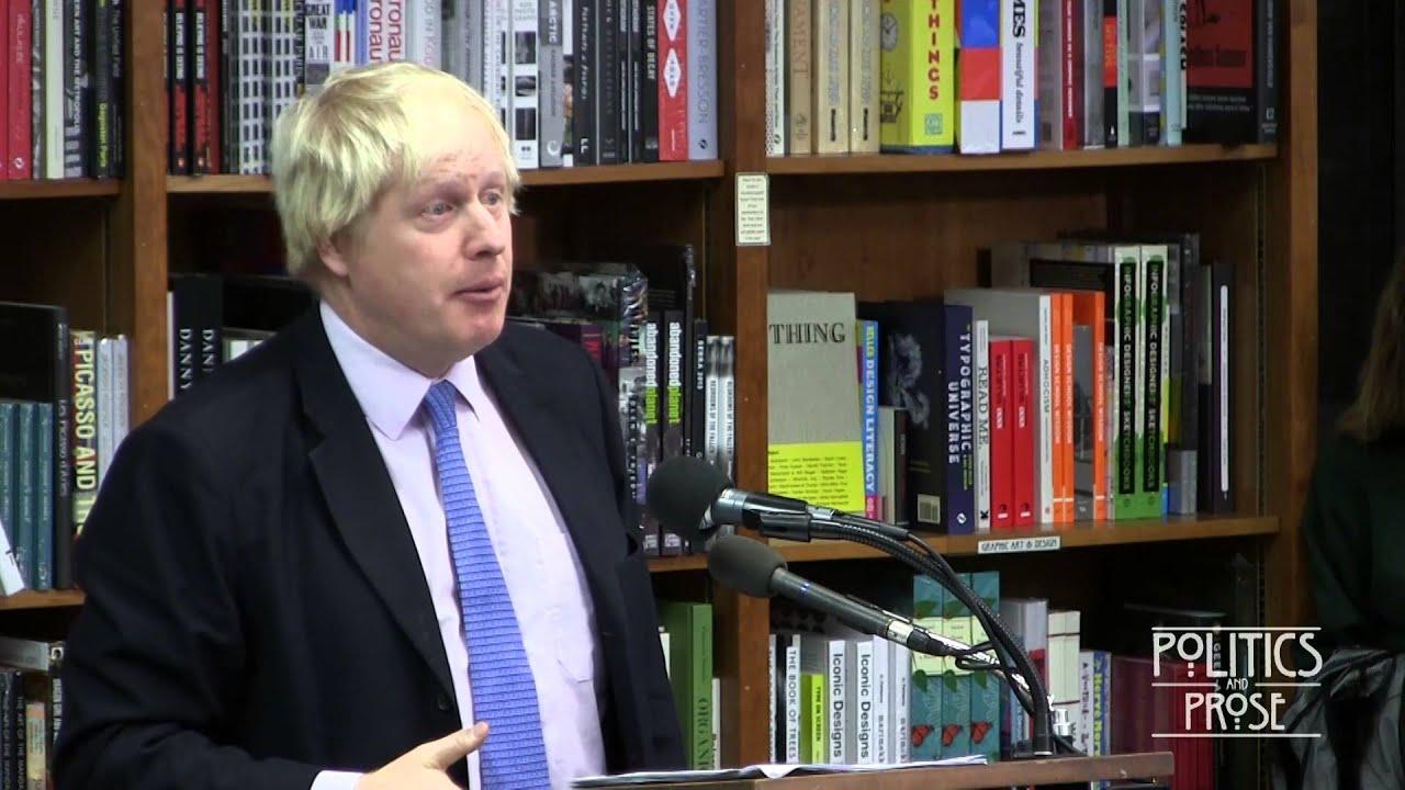 "Boris Johnson, ""The Churchill Factor"""