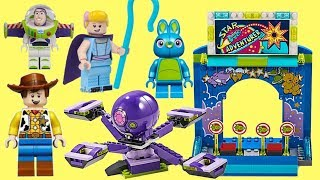 Download Disney Pixar TOY STORY 4 LEGO Build Woody & Buzz Carnival with Bunny, Ducky & Bo Peep Video