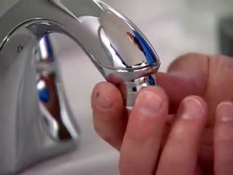 Kohler Water Saving Tips - How to Install a Faucet Aerator