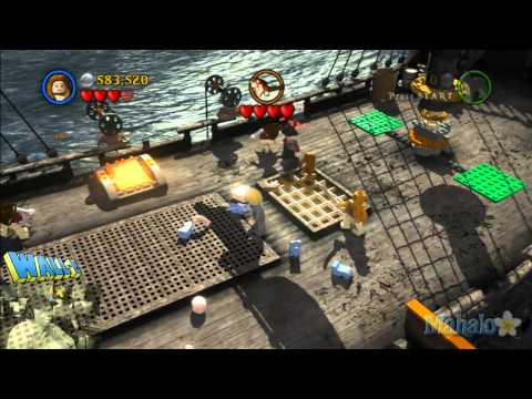LEGO Pirates of the Caribbean Complete Free Play Walkthrough - Final Complete Pass - Pt 10