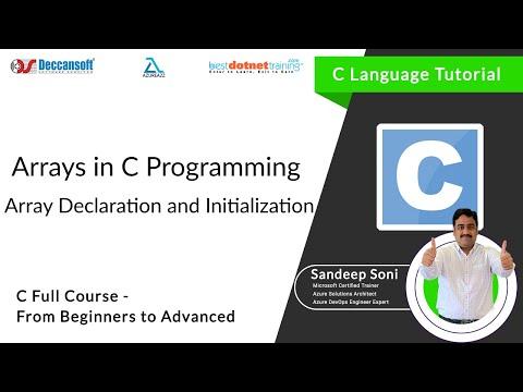 Array Declaration and Initialization |  bestdotnettraining.com