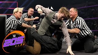 Jack Gallagher and Ariya Daivari parlay to settle their differences: WWE 205 Live, Jan. 10, 2017