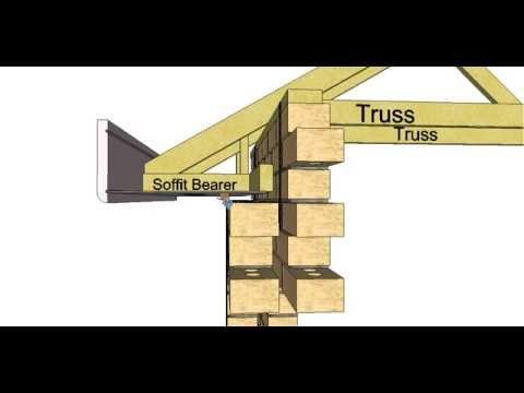 Section Through a Double Brick Building Part 2