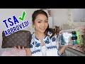 TSA Approved | Makeup Bag + Toiletries for Mexico! #CharsTravels | Charmaine Dulak