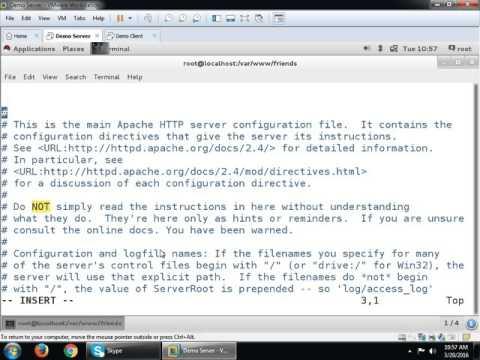 Apache Complete Server on RHEL7