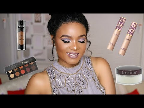 SOFT COOL TONE MAKEUP TUTORIAL WITH A TOUCH OF BLUE | OMABELLETV