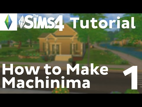 Machinima Tutorial | Sims 4 | Cinematic Camera