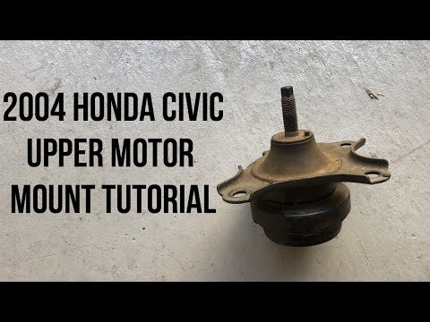 2004 Honda Civic Driver Side Motor Mount Replacement