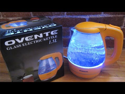 Ovente Electric Water Kettle | Complete Review Demo | Model KG83B