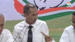 LIVE: AICC Press Briefing By P Chidambaram, Jairam Ramesh and LT Gen DS Hooda at Congress HQ