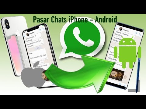 Pasar Chats de WhatsApp iPhone a Android