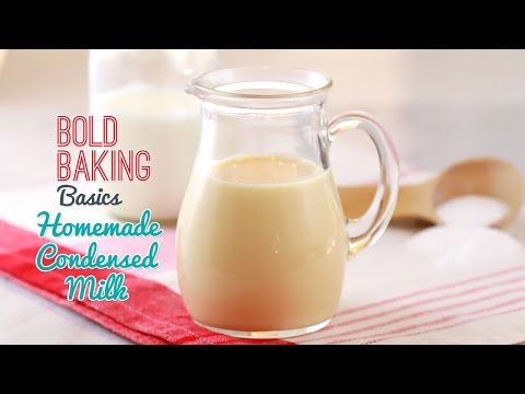 How to Make Condensed Milk - Gemma's Bold Baking Basics Episode 2