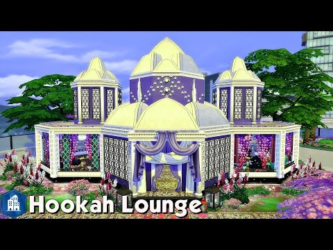 The Sims 4: Speed Build - Hookah Lounge