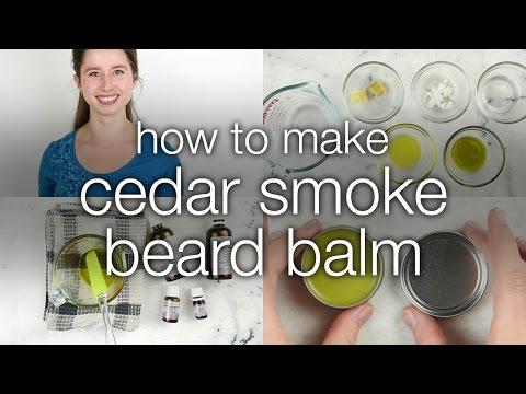How to Make Cedar Smoke Beard Balm