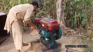 The first water of wheat crop   گندم کی فصل کا پہلا پانی  Vlog