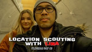 LOCATION SCOUTING WITH LINA | VLOGMAS DAY 13