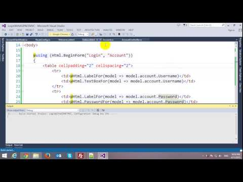 Login Form with ASP.NET MVC Framework