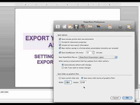Infogrpahics in PowerPoint: Exporting slide as high-resolution image