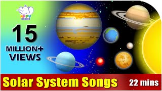 Songs on the Solar System in Ultra HD (4K)
