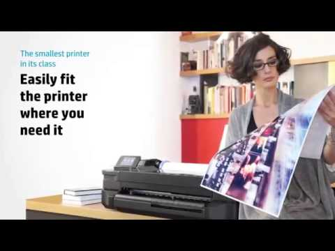 HP T120 large format Printer | Large Format Printer Singapore