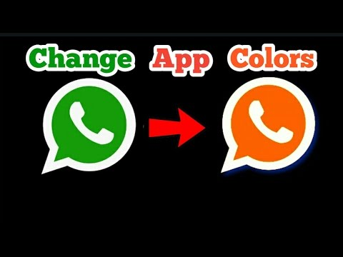 Change app name and color