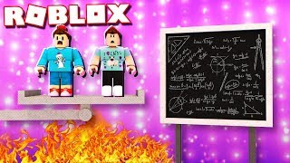 Roblox Adventures - IF YOU ANSWER WRONG, YOU DIE! (Panic Attack)