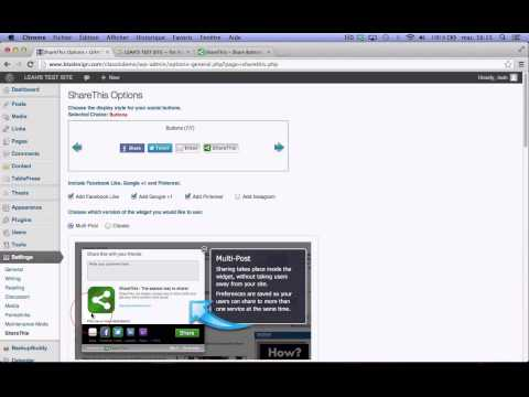 WordPress: Add Share Buttons To Posts