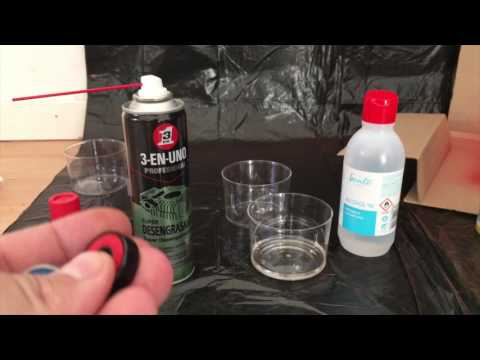 HOW TO CLEAN A BEARING-QUICK AND EASY