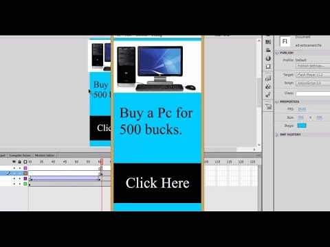 Make your own Dynamic Advertisement / Banner in Flash for your Website