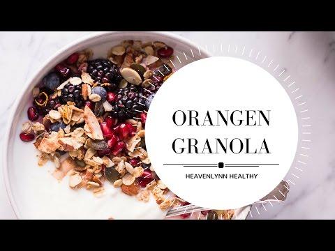 Orangen Granola | Heavenlynn Healthy for Kitchen Stories