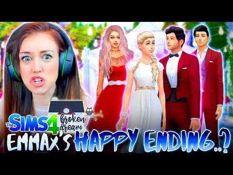 WILL EMMAX GET THEIR HAPPY ENDING...?💔 V-DAY SPECIAL! (The Sims 4 - BROKEN DREAM #10! 🏚)