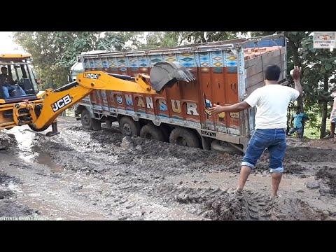 Xxx Mp4 Tata Lpt 3118c Stuck In Mud Rescue By Jcb Machine 3gp Sex