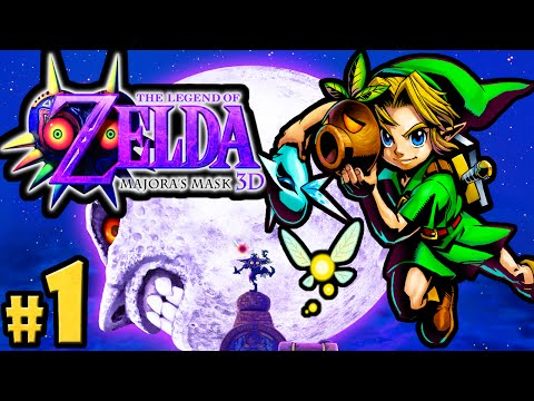The Legend of Zelda Majora's Mask 3DS Gameplay Walkthrough PART 1 Clock Town Scrub Nintendo