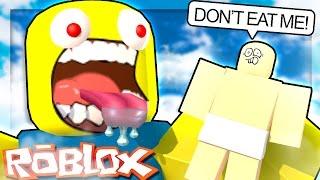 Roblox Adventures - PLEASE DONT EAT ME!! (Roblox Get Eaten)