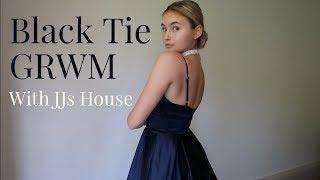 Grwm: Black Tie/prom With Jjs House | Bella Lucia