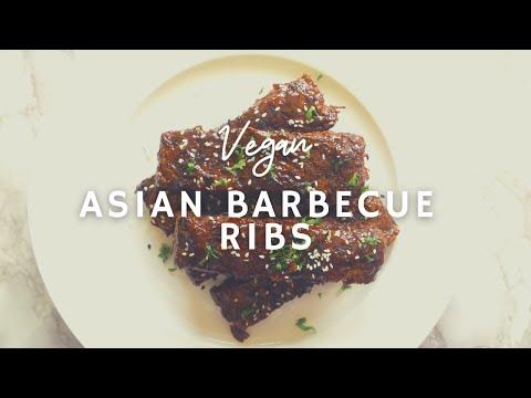 Asian Barbeque Ribs* |Gluten-free Vegan| Korenn Rachelle