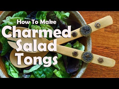 How To Make Charmed Salad Tongs