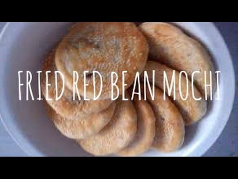RED BEAN MOCHI CAKE | VEGAN CHINESE DESSERT