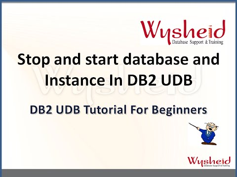 Steps for starting and stopping Db2 instances and databases | how to startup Db2 database
