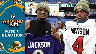 Around the NFL Sunday Week 11 Reaction Show