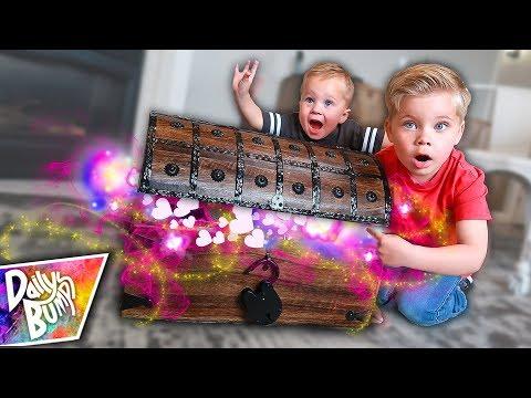 We Found A Valentine's Treasure Chest! ✨