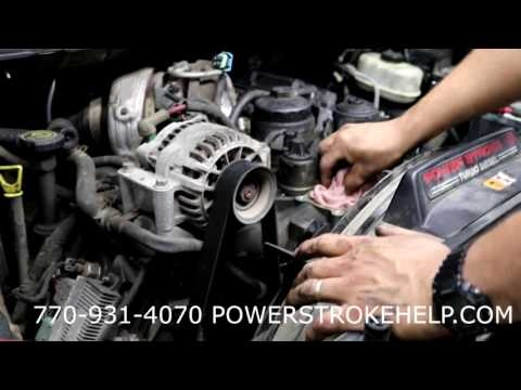 EGR COOLER REPLACEMENT ON 6.0L POWERSTROKE 1 in series