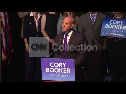 FILE:CORY BOOKER TO CONDUCT SAME-SEX MARRIAGES